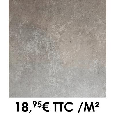 Carrelage 34x34cm Saumur Gris