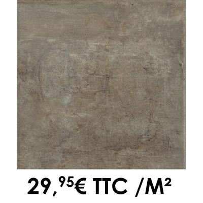 Carrelage 60x60cm Atelier Acier