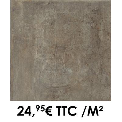 Carrelage 45x45cm Atelier Acier