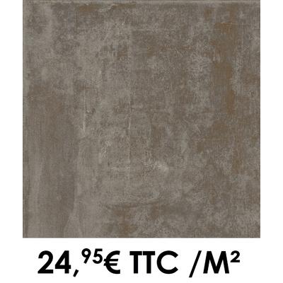 Carrelage 45x45cm Atelier Carbone