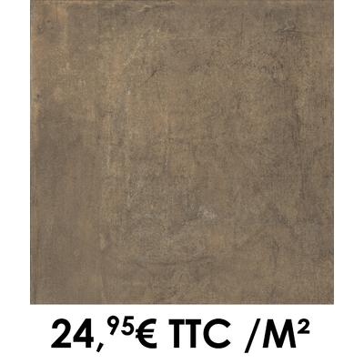 Carrelage 45x45cm Atelier Cuivre