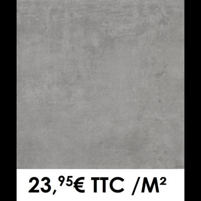 Carrelage 60x60cm Béton Anthracite