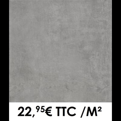 Carrelage 45x45cm Béton Anthracite