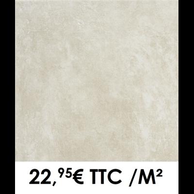 Carrelage 45x45cm Béton Beige