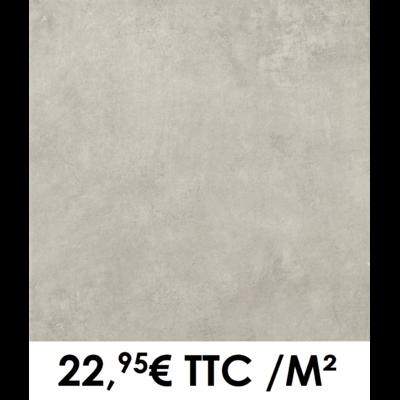 Carrelage 45x45cm Béton Gris