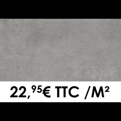 Carrelage 30x60cm Béton Anthracite