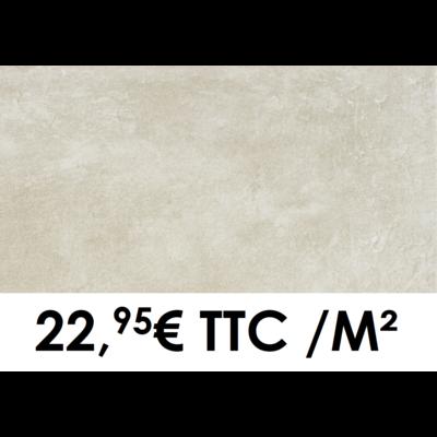 Carrelage 30x60cm Béton Beige