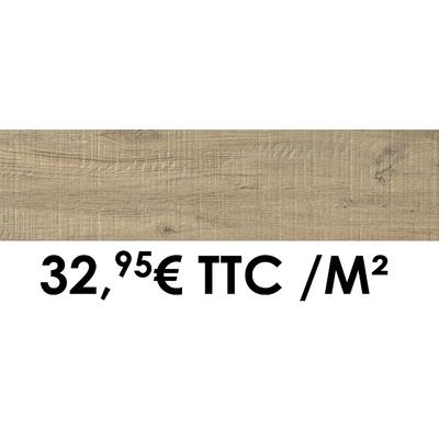 Carrelage 19x80cm Cévennes Chêne