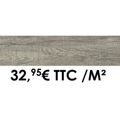 Carrelage 19x80cm Cévennes Gris
