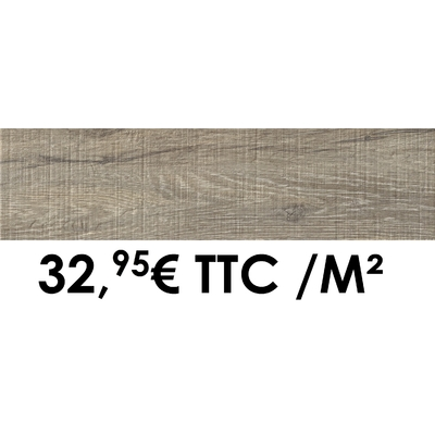 Carrelage 19x80cm Cévennes Muscade