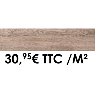 Carrelage 19x80cm Classic Wood Chamois