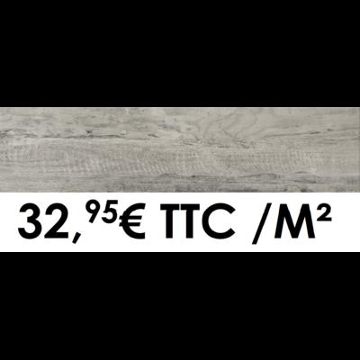 Carrelage 19x80cm Cortina Grisé