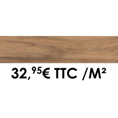 Carrelage 19x80cm Savoie Hêtre