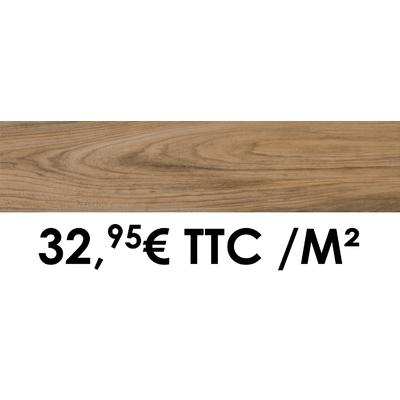 Carrelage 19x80cm Savoie Noyer