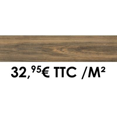 Carrelage 19x80cm Savoie Teck