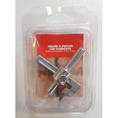 Mèche à percer les carreaux (28-93mm)