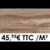20mm 40x80cm GMP 400 noisette