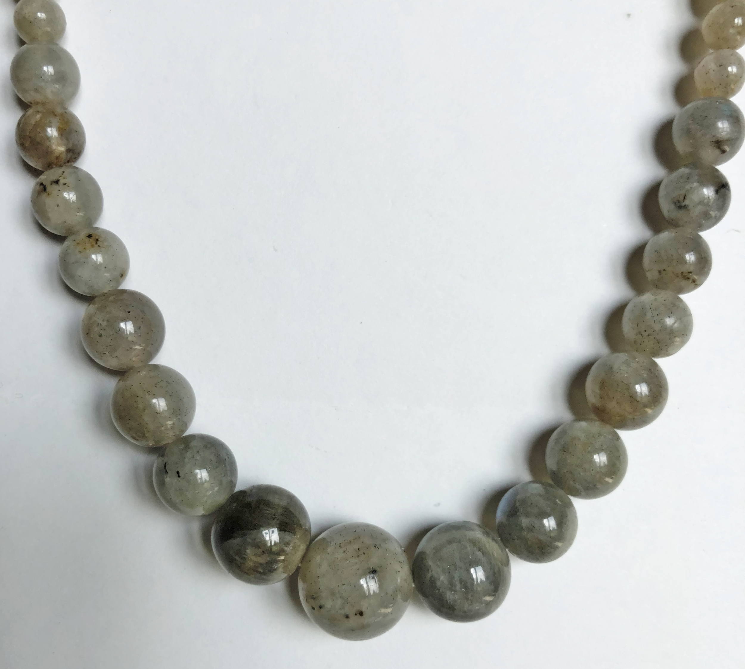 Collier labradorite perles - Angel shop