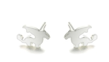 Boucles d\'oreilles dragon puces - Angel shop