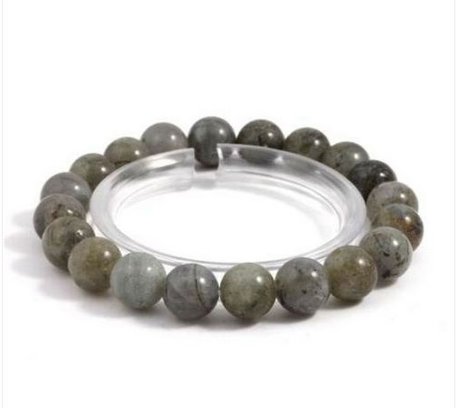 Bracelet élatiqué labradorite perles 10mm - Angel shop