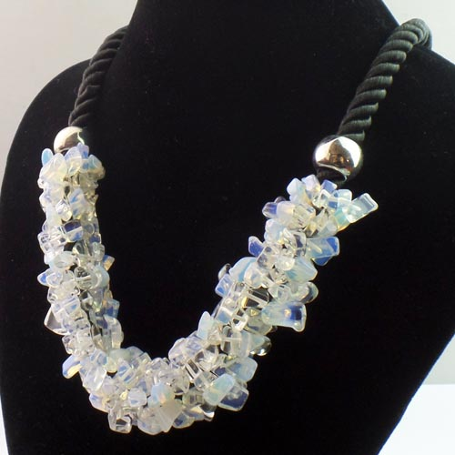 Collier XXL opalite  - Angel shop