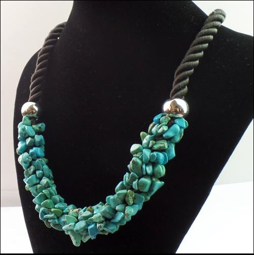 Collier XXL turquoise  - Angel shop