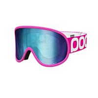Masque de ski Poc - RETINA BIG - Bronze Blue Mirror - Cat 2