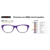 Clips Face & Cie - CIE 13B - Thème Leds