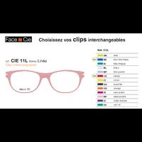 Clips Face & Cie - CIE 11 L - Thème Linéa