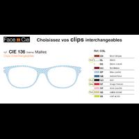 Clips Face & Cie - CIE 136 - Thème Mailles