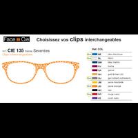 Clips Face & Cie - CIE 135 - Thème Seventies
