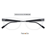 Monture Face & Cie - FC1DB CL-NO 51x17