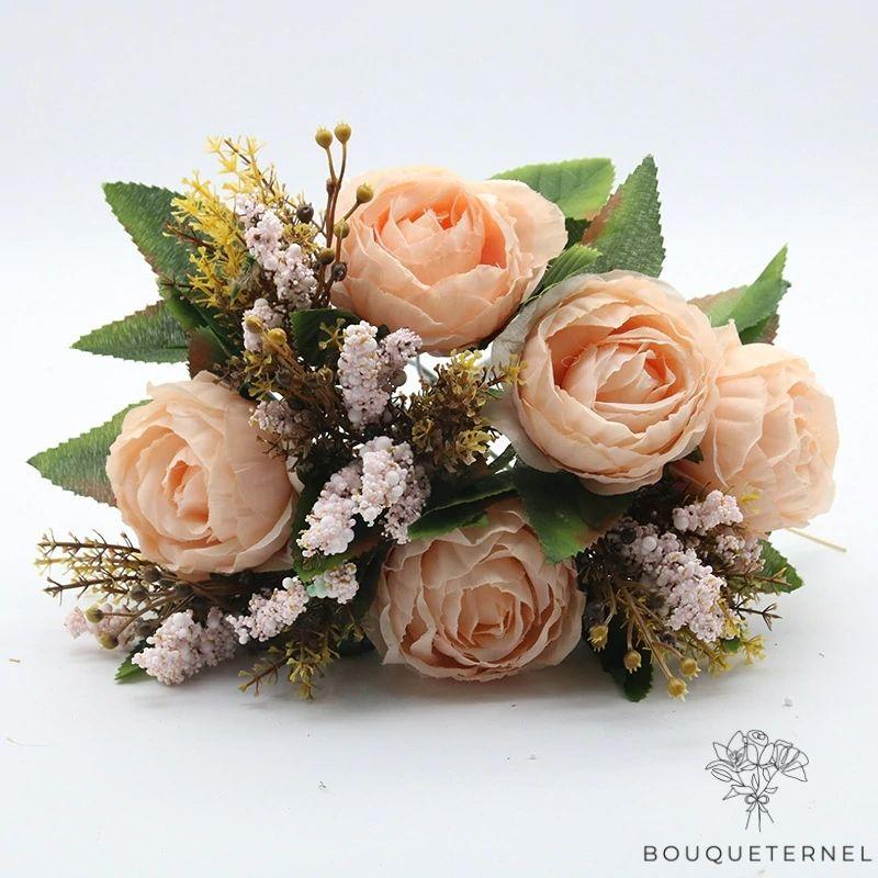 Bouquet Artificiel Fleurs Artificielles Haut de Gamme