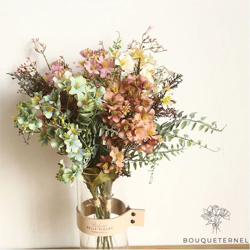 Bouquet Artificiel Composition Fleurs Artificielles pour Cimetière