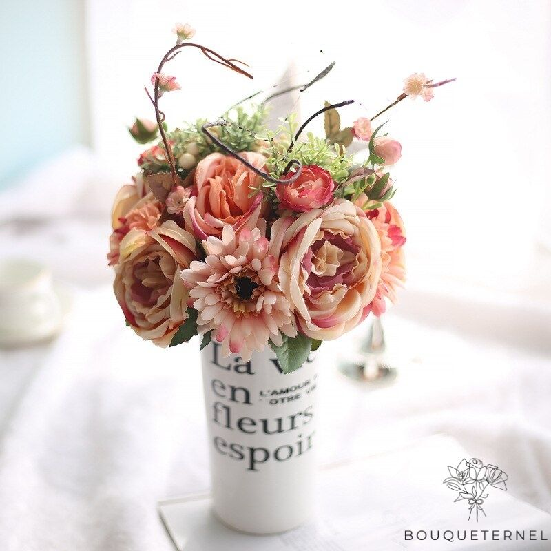 Bouquet Artificiel Composition Florale de Noël