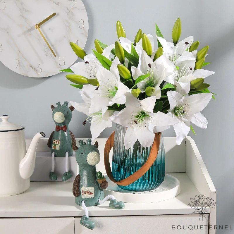 Fleurs de Lys Striatum Artificielles