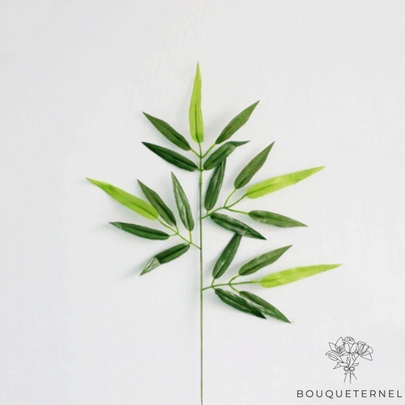 Branche Artificielle Tige de Bambou Artificiel d\'Extérieur