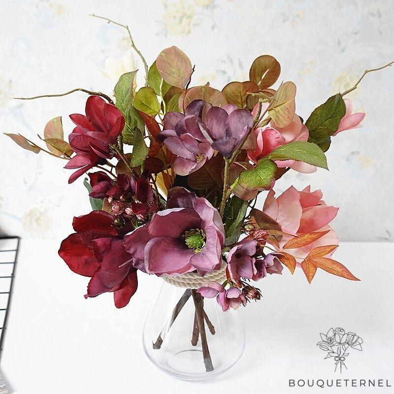 Bouquet Artificiel Fleurs Artificielles d\'Extérieur pour Cimetière
