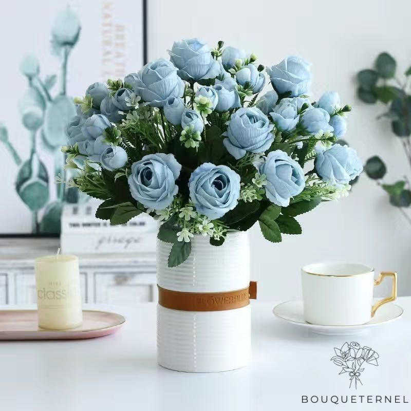 Fleur Artificielle Déco Table | Fleurs Artificielles Mariage | Bouqueternel