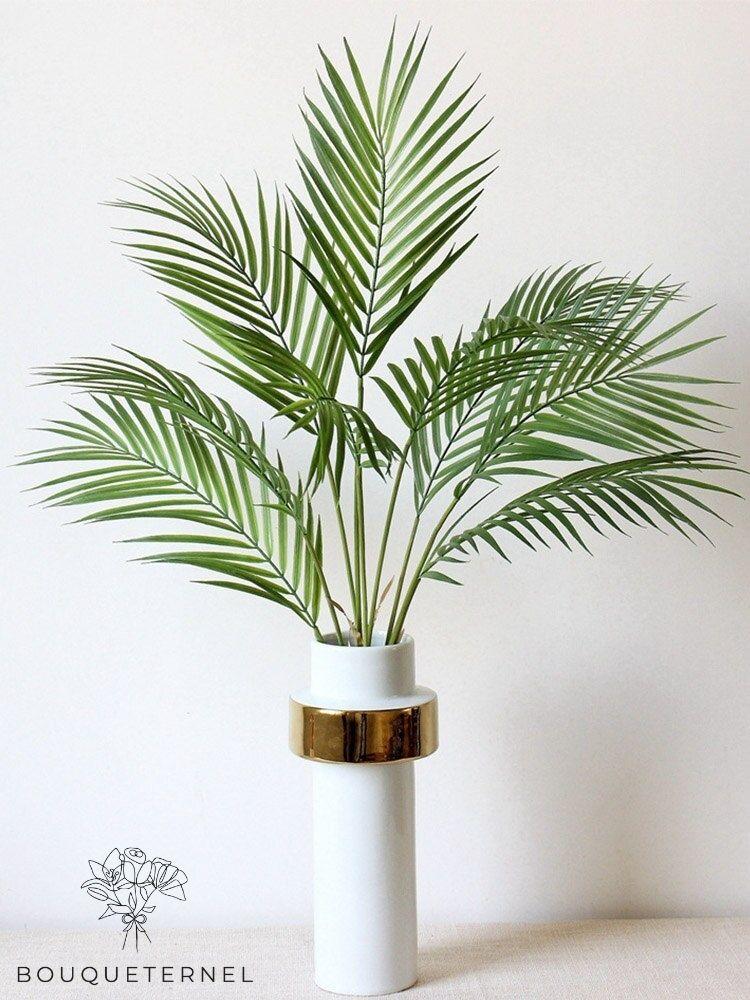 Branche Artificielle Feuilles de Palmier