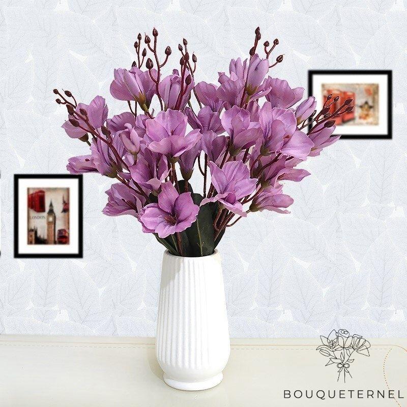 Bouquet Artificiel Magnolia Soulangeana à Grandes Fleurs