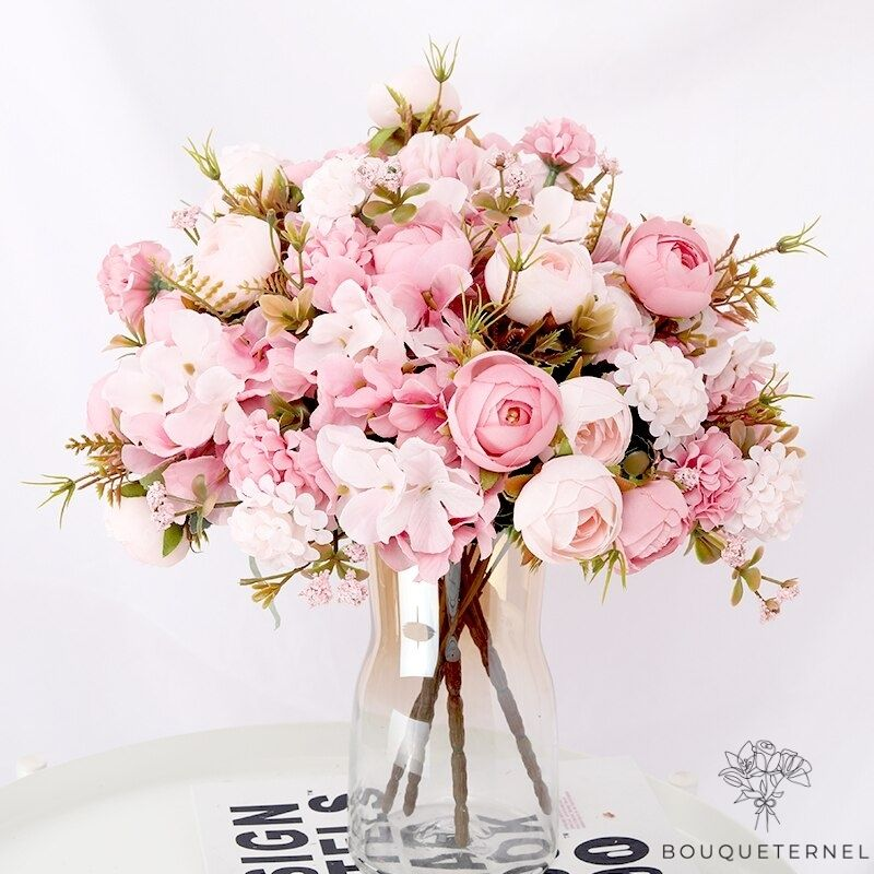 Bouquet Artificiel Composition Florale pour Mariage