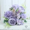 Composition Florale Originale Violette | Bouquet Artificiel | Bouqueternel
