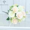 Décoration Florale pour Mariage Blanc Cassé | Bouquet Artificiel | Fleurs Artificielles Mariage | Bouqueternel