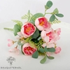 Bouquet Artificiel Fleurs Déco de Portulaca Rose | Bouquet Artificiel | Bouqueternel