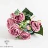 Bouquet de Fleurs Artificielles Décoration de Table pour Mariage Rose | Bouquet Artificiel | Fleur Mariage Artificielle | Bouqueternel