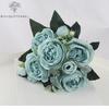 Bouquet Artificiel Art Floral Pivoine Tenuifolia Bleue | Bouquet Artificiel | Pivoine Artificielle | Bouqueternel