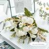 Bouquet Artificiel Art Floral Mariage Petit Blanc | Bouquet Artificiel | Fleur Artificielle Mariage | Bouqueternel