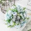 Bouquet Artificiel Composition de Fleurs pour Mariage Bleu | Bouquet Artificiel | Fleur Artificielle Mariage | Bouqueternel
