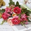 Bouquet Artificiel Composition Florale Rouge | Bouquet Artificiel | Bouqueternel